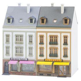 Faller 130702 H0 2 Rijtjeshuizen Beethovenstraße