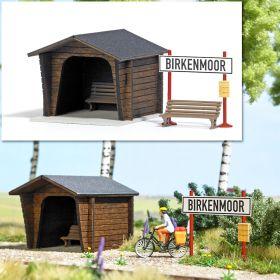 Busch 1463 H0 Halte Birkenmoor