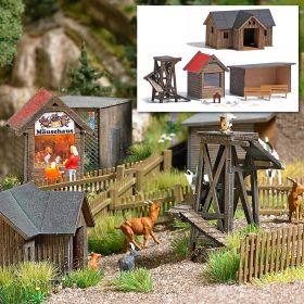 Busch 1587 H0 Kinderboerderij