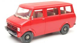 Wiking H0 Ford transit rood