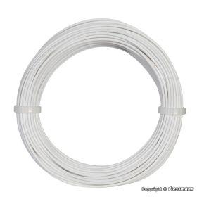 Viessmann 6862 0,14 mm² Electriciteitskabel / Draad wit 10m