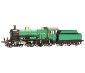 Artitec 22.220.06 H0 Stoomlocomotief NS 3740, grasgroen, 3 assige tender FULL sound