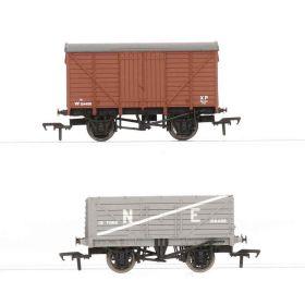 Bachmann 37-726/37-075 00 Twee goederenwagens van de BR