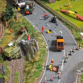 Busch 7198 H0 Teerpleisters voor asfalt
