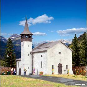 Kibri 38813 H0 Antoniuskapelle Saas-Grund kerk