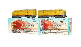 Märklin 3061/4061 H0 Tweedelige set diesellocomotieven F7 van de Union Pacific