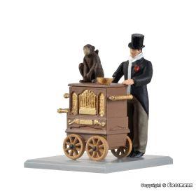 Viessmann 1549 H0 Draaiorgelspeler bewegend