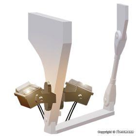Viessmann 6339 H0 Set van 7 lichtstralers
