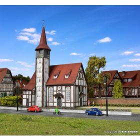Vollmer 43768 H0 Vakwerk kerk Altbach