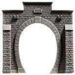 Noch 58051 H0 Tunnelportaal voor 1 rails 13,5 x 12,5 cm