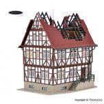 Vollmer 43728 H0 Brandend huis